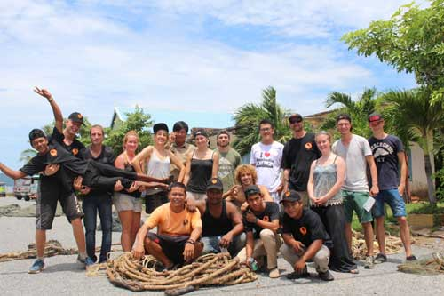 Marine Conservation Cambodia Volunteers