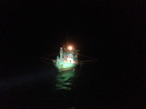 Illegal Electric Trawler