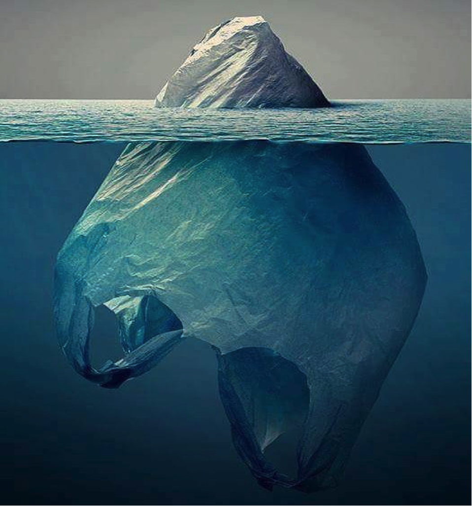 Ocean Plastics just the tip of the iceberg.